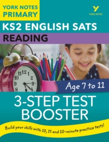 English SATs 3-Step Test Booster Reading: York Notes for KS2, Paperback / softback Book