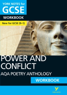 AQA Poetry Anthology - Power and Conflict: York Notes for GCSE (9-1) Workbook, Paperback Book