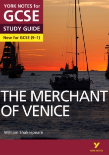 The Merchant of Venice: York Notes for GCSE (9-1), Paperback Book