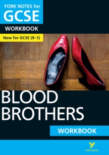 Blood Brothers: York Notes for GCSE (9-1) Workbook, Paperback Book
