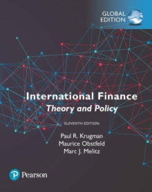 International Finance: Theory and Policy, Global Edition, Paperback / softback Book