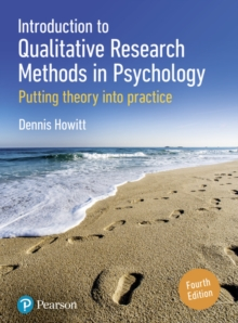 Introduction to Qualitative Research Methods in Psychology : Putting Theory Into Practice, Paperback / softback Book