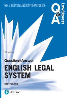Law Express Question and Answer: English Legal System ePub, EPUB eBook