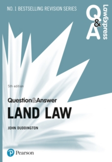 Law Express Question and Answer: Land Law, Paperback / softback Book