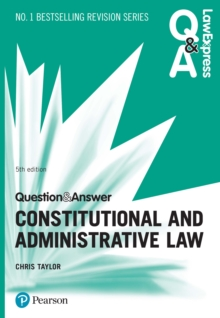 Law Express Question and Answer: Constitutional and Administrative Law, PDF eBook