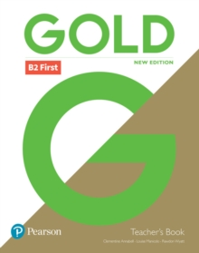 Gold B2 First New Edition Teacher's Book with Portal access and Teacher's Resource Disc Pack, Mixed media product Book