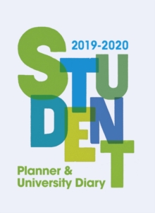 Student Planner and University Diary 2019-2020, Spiral bound Book