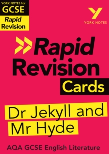 York Notes for AQA GCSE (9-1) Rapid Revision Cards: The Strange Case of Dr Jekyll and Mr Hyde, PDF eBook