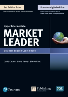 9781292361147 Market Leader 3e Extra Upper Intermediate Course Book, eBook, QR, MEL & DVD Pack, Mixed media product Book