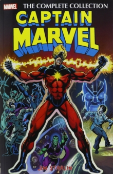 Captain Marvel By Jim Starlin: The Complete Collection, Paperback Book