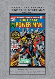 Marvel Masterworks: Luke Cage, Power Man Vol. 2, Hardback Book
