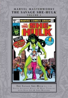 Marvel Masterworks: The Savage She-hulk Vol. 1, Hardback Book