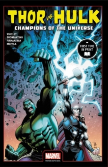 Thor Vs. Hulk: Champions Of The Universe, Paperback Book