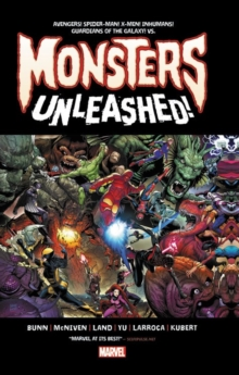 Monsters Unleashed: Monster-Size, Hardback Book