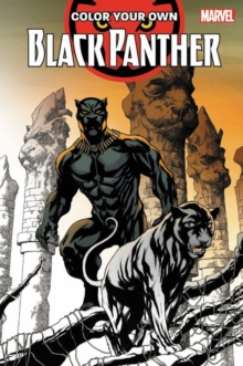 Color Your Own Black Panther, Paperback Book