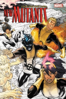 Color Your Own X-men: The New Mutants, Paperback Book