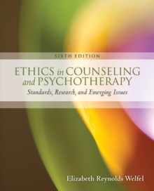Ethics in Counseling & Psychotherapy, Paperback / softback Book