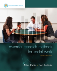 Empowerment Series: Essential Research Methods for Social Work, Paperback Book