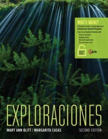 Exploraciones (with Student Activities Manual and iLrn Heinle Learning Center, 4 terms (24 months) Printed Access Card), Mixed media product Book