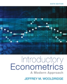 Introductory Econometrics : A Modern Approach, Hardback Book