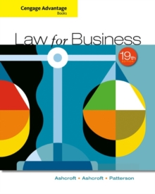 Cengage Advantage Books: Law for Business, Paperback / softback Book