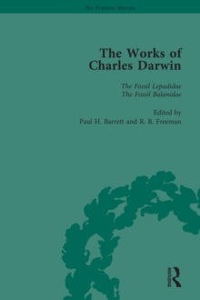The Works of Charles Darwin: Vol 14: A Monograph on the Fossil Lepadidae (1851), EPUB eBook