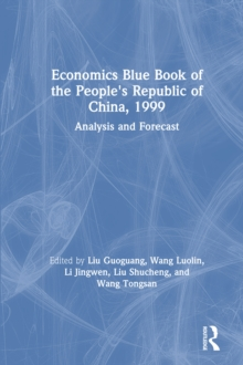 Economics Blue Book of the People's Republic of China, 1999, PDF eBook