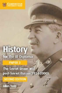 The Soviet Union and Post-Soviet Russia (1924-2000), Paperback Book