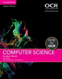 GCSE Computer Science for OCR Student Book, Paperback Book