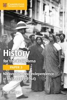 Nationalism and Independence in India (1919-1964), Paperback Book