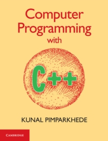 Computer Programming with C++, Paperback Book