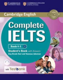 Complete IELTS Bands 4-5 Student's Book with Answers with CD-ROM with Testbank, Mixed media product Book