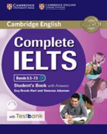Complete IELTS Bands 6.5-7.5 Student's Book with answers with CD-ROM with Testbank, Mixed media product Book