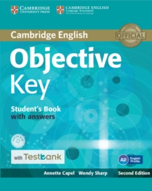 Objective : Objective Key Student's Book with Answers with CD-ROM with Testbank, Mixed media product Book