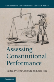 Assessing Constitutional Performance, Paperback Book