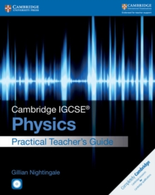 Cambridge IGCSE (R) Physics Practical Teacher's Guide with CD-ROM, Mixed media product Book