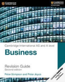 Cambridge International AS and A Level Business Revision Guide, Paperback Book