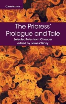 The Prioress' Prologue and Tale, Paperback Book