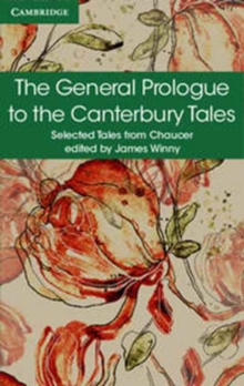 The General Prologue to the Canterbury Tales, Paperback / softback Book