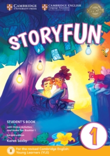 Storyfun for Starters Level 1 Student's Book with Online Activities and Home Fun Booklet 1, Mixed media product Book