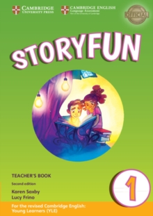 Storyfun for Starters Level 1 Teacher's Book with Audio, Mixed media product Book
