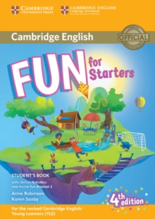 Fun for Starters Student's Book with Online Activities with Audio and Home Fun Booklet 2, Mixed media product Book