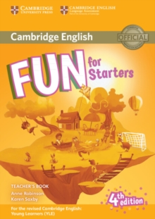 Fun for Starters Teacher's Book with Downloadable Audio, Mixed media product Book