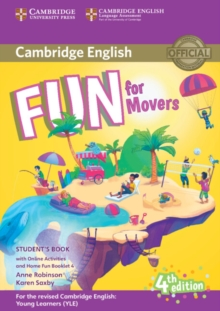 Fun for Movers Student's Book with Online Activities with Audio and Home Fun Booklet 4, Mixed media product Book