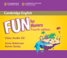Fun for Movers Class Audio CD, CD-Audio Book