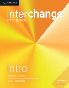 Interchange Intro Teacher's Edition with Complete Assessment Program, Mixed media product Book