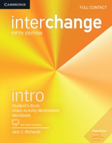 Interchange Intro Full Contact with Online Self-Study, Mixed media product Book