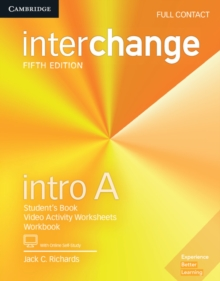 Interchange Intro A Full Contact with Online Self-Study, Mixed media product Book