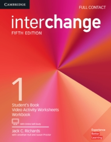 Interchange Level 1 Full Contact with Online Self-Study, Mixed media product Book
