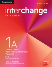 Interchange Level 1A Full Contact with Online Self-Study, Mixed media product Book